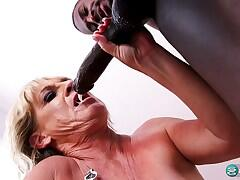 A big, black dick for Brandi's tight ass