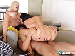 Rita Daniels and Leah L'Amour: dream three-way